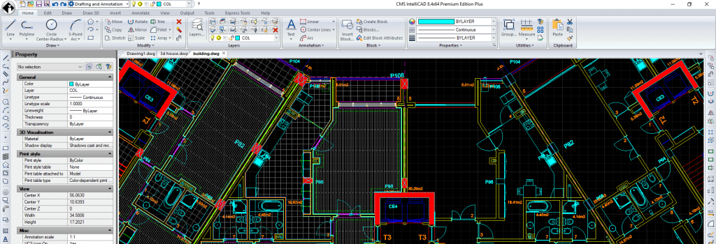 CMS IntelliCAD 8.4 PE Compatible CAD Software released