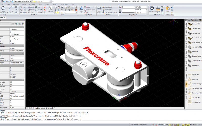 New CMS IntelliCAD 9.2 - Again, the highest value CAD tools to end users.